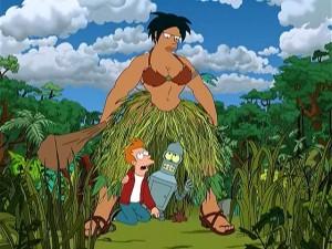 Amazon Woman In Mood Bender Fry