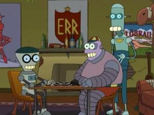 Mars University Robots