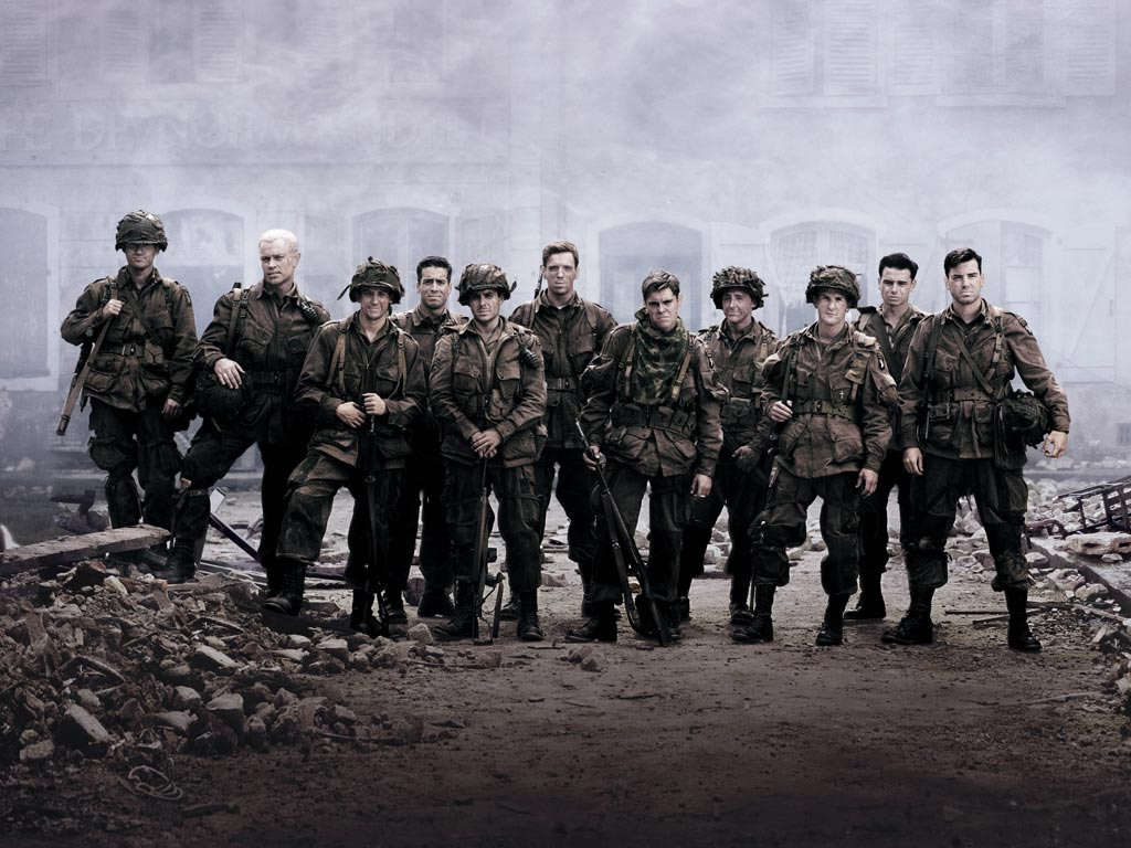 Band of Brothers Together Image