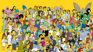 The Simpsons 20th Character Image