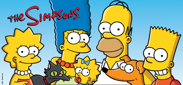 The Simpsons Header Image