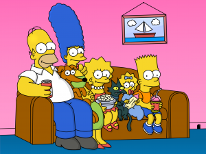 The Simpsons Couch Image