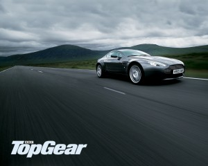 Top Gear Aston Martin Shot
