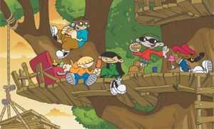 Codename Kids Next Door Cast Image Tree House