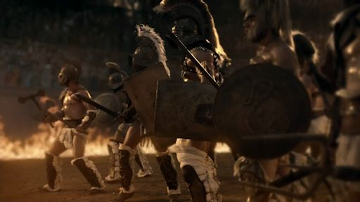 Gannicus wins his Freedom