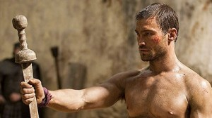 Spartacus' first Arena Battle (vs Crixus)