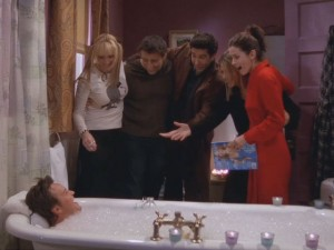 The One When Chandler Takes a Bath