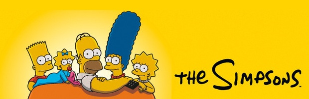 Simpsons Banner png
